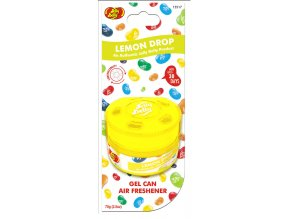 Vůně do auta Jelly Belly Gel Can Air Freshener Lemon Drop