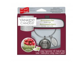 Vonný set do auta Charming Scents Linear Kit Black Cherry Zralé třešně, 90 g