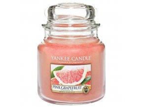Vonná svíčka ve skleněné dóze Růžový grep PINK GRAPEFRUIT, 411 g