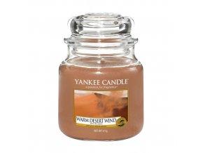 Vonná svíčka ve skleněné dóze Teplý pouštní vítr WARM DESERT WIND, 411 g
