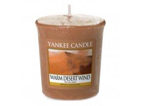 Votivní svíčka Yankee Candle Teplý pouštní vítr WARM DESERT WIND, 49 g