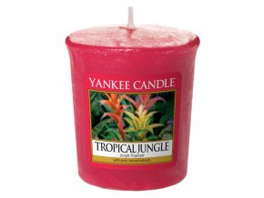 Votivní svíčka Yankee Candle Tropická džungle TROPICAL JUNGLE, 49 g