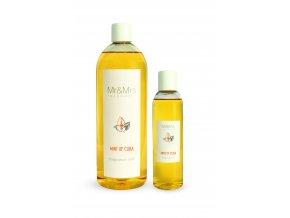 Náplň do aroma difuzéru Mr&Mrs BLANC Mint of cuba Pomeranč a máta, 200 ml
