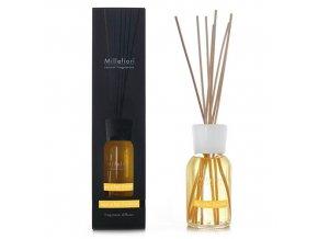 Aroma difuzér Millefiori Milano Natural, Dřevo a pomerančové květy, 250 ml