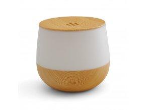 Aroma difuzér sonický s osvětlením Airbi LOTUS – světlé dřevo, 80 ml