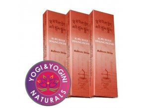 Vonné tyčinky Tibetan Kuru Kulle Relieves Stress Zmírnění stresu, 20 g