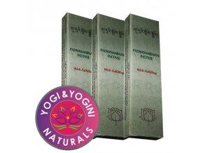 Vonné tyčinky Tibetan Padmasambhava Wish Fulfilling Přání splnění, 20 g