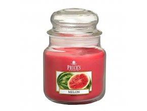 Vonná svíčka Price´s Meloun, 411 g