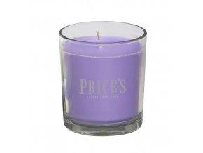 Vonná svíčka Price´s Levandule a citronová tráva, 170 g