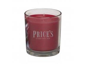 Vonná svíčka Price´s Černá třešeň, 170 g