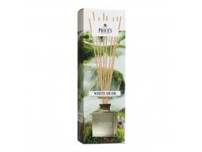 Aroma difuzér Price´s Candles Bílé pižmo, 100 ml