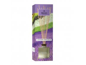 Aroma difuzér Price´s Candles Levandule a citronová tráva, 100 ml