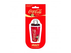 Osvěžovač vzduchu Coca Cola® 3D Air Freshener Vanilla, 1 ks