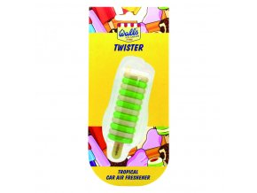 Osvěžovač vzduchu Wall's® Ice Cream Twister 3D Air Freshener Tropical, 1 ks