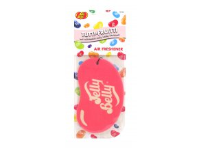Vůně do auta Jelly Belly 2D Paper Air Freshener Tutti Fruitti, 1 ks