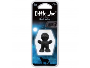 Osvěžovač vzduchu Little Joe Vent 3D Air Freshener Black Velvet, 1 ks