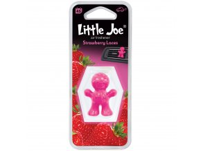 Osvěžovač vzduchu Little Joe Vent 3D Air Freshener Pink Strawberry Laces, 1 ks