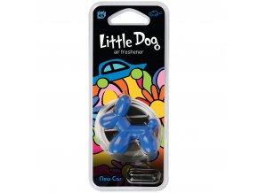 Osvěžovač vzduchu Little Dog Vent 3D Air Freshener Blue New Car, 1 ks