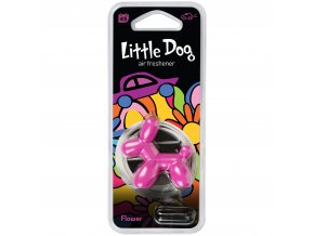 Osvěžovač vzduchu Little Dog Vent 3D Air Freshener Pink Flower, 1 ks