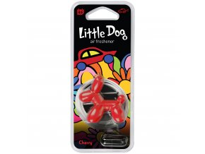 Osvěžovač vzduchu Little Dog Vent 3D Air Freshener Red Cherry, 1 ks