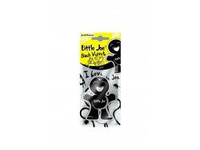 Osvěžovač vzduchu Little Joe Paper 2D Air Freshener Black Velvet, 1 ks
