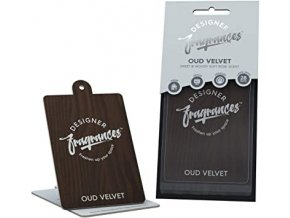 Designer Fragrances Vehicle Air Freshener Hanging Car Home Air Freshener Pack of 3 Oud Velvet