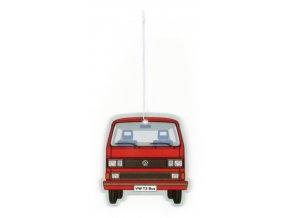 Osvěžovač vzduchu VW T3 Bus Air Freshener VanillaRed 1 ks