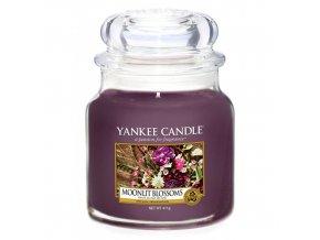 Vonná svíčka ve skleněné dóze Květiny ve svitu měsíce MOONLIT BLOSSOMS, 411 g