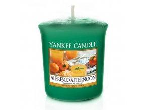Votivní svíčka Yankee Candle Alfresco odpoledne, 49 g
