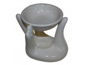 Aroma lampa Ruka Bílá, 10 x 12 x 10 cm 1