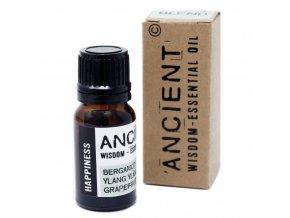 Vonný esenciální olej ŠTĚSTÍ směs, 10 ml