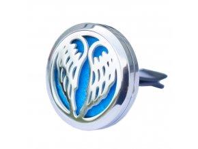 Osvěžovač vzduchu do auta Aroma difuzér Andělská křídla, 30 mm