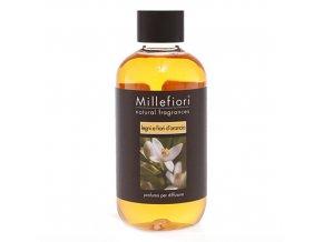 Náplň do aroma difuzéru NATURAL Dřevo a pomerančové květy, 250 ml