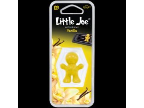 Osvěžovač vzduchu Little Joe Vent Air Freshener Yellow Vanilla, 1 ks