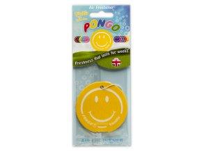 Osvěžovač vzduchu Pongo Smiley 2D Air Freshener Vanilla, 1 ks