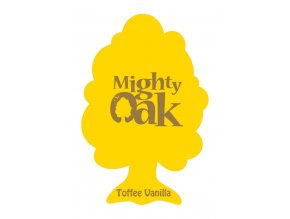 Osvěžovač vzduchu Mighty Oak 2D Air Freshener Toffee Vanilla, 1 ks