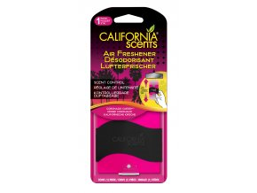 California Scents Paper Air Freshener Coronado Cherry Višně, 1 ks