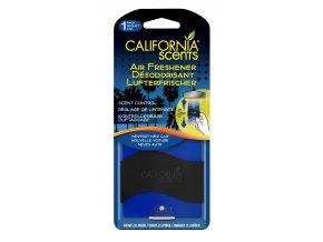 California Scents Paper Air Freshener Newport New Car Vůně nového auta, 1 ks