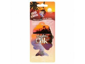 Osvěžovač vzduchu Mighty Oak 2D Air Freshener Exotic Oud, 1 ks