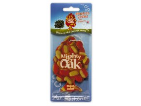 Osvěžovač vzduchu Mighty Oak 2D Air Freshener Rhubarb & Custard REBARBORA A PUDINK, 1 ks
