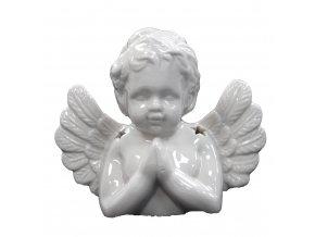 Aroma lampa Modlící se anděl bílá