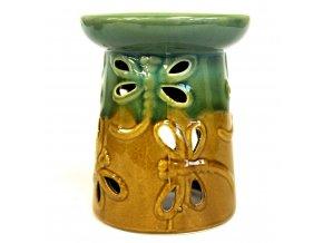 Aroma lampa Rustikální Vážka hořčicovo zelená