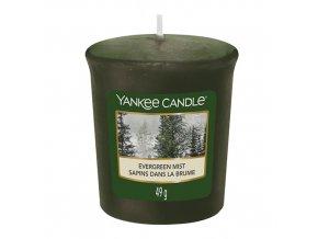 Votivní svíčka Yankee Candle Lesní mlha, 49 g