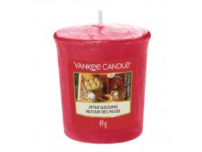 Votivní svíčka Yankee Candle Po sáňkování, 49 g