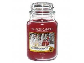 Vonná svíčka ve skleněné dóze Vánoční kouzlo Christmas Magic, 623 g