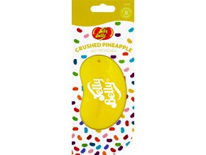 Vůně do auta Jelly Belly 3D Air Freshener Crushed Pineapple Ananas, 1 ks