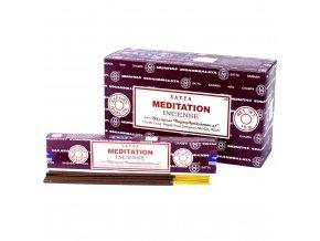 Vonné tyčinky Shrinivas Satya Meditace, 15 g