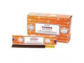 Vonné tyčinky Shrinivas Satya Champa, 15 g