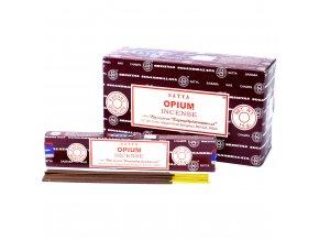 Vonné tyčinky Shrinivas Satya Opium, 15 g