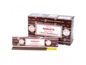 Vonné tyčinky Shrinivas Satya Namaste, 15 g